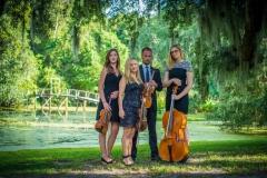 string_quartet_at Middleton_place_Plantation_kiral_artists