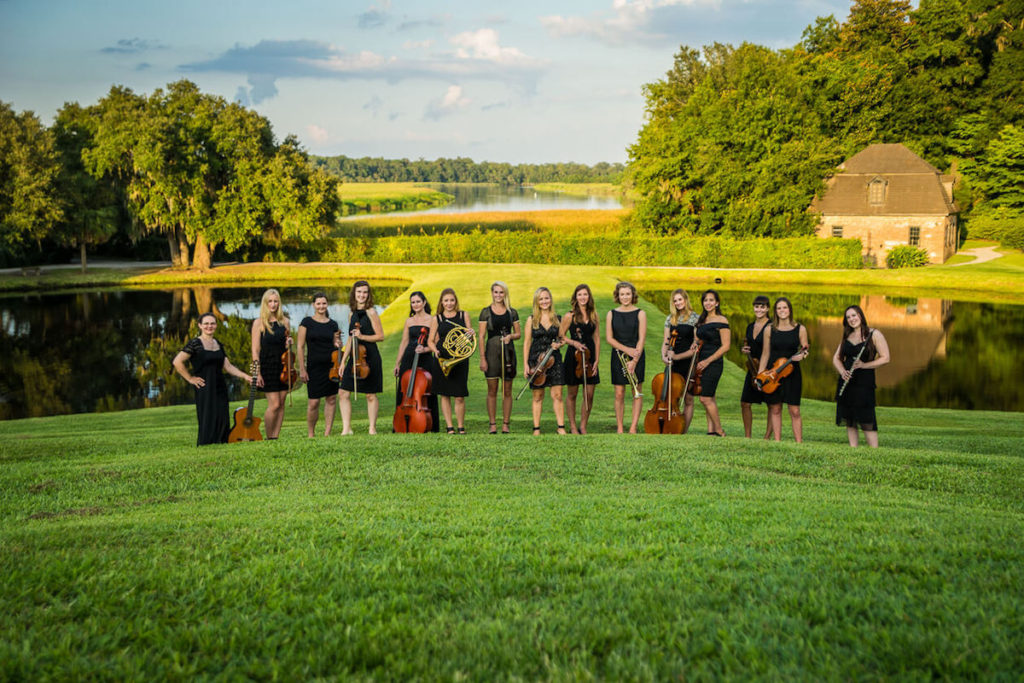female wedding orchestra