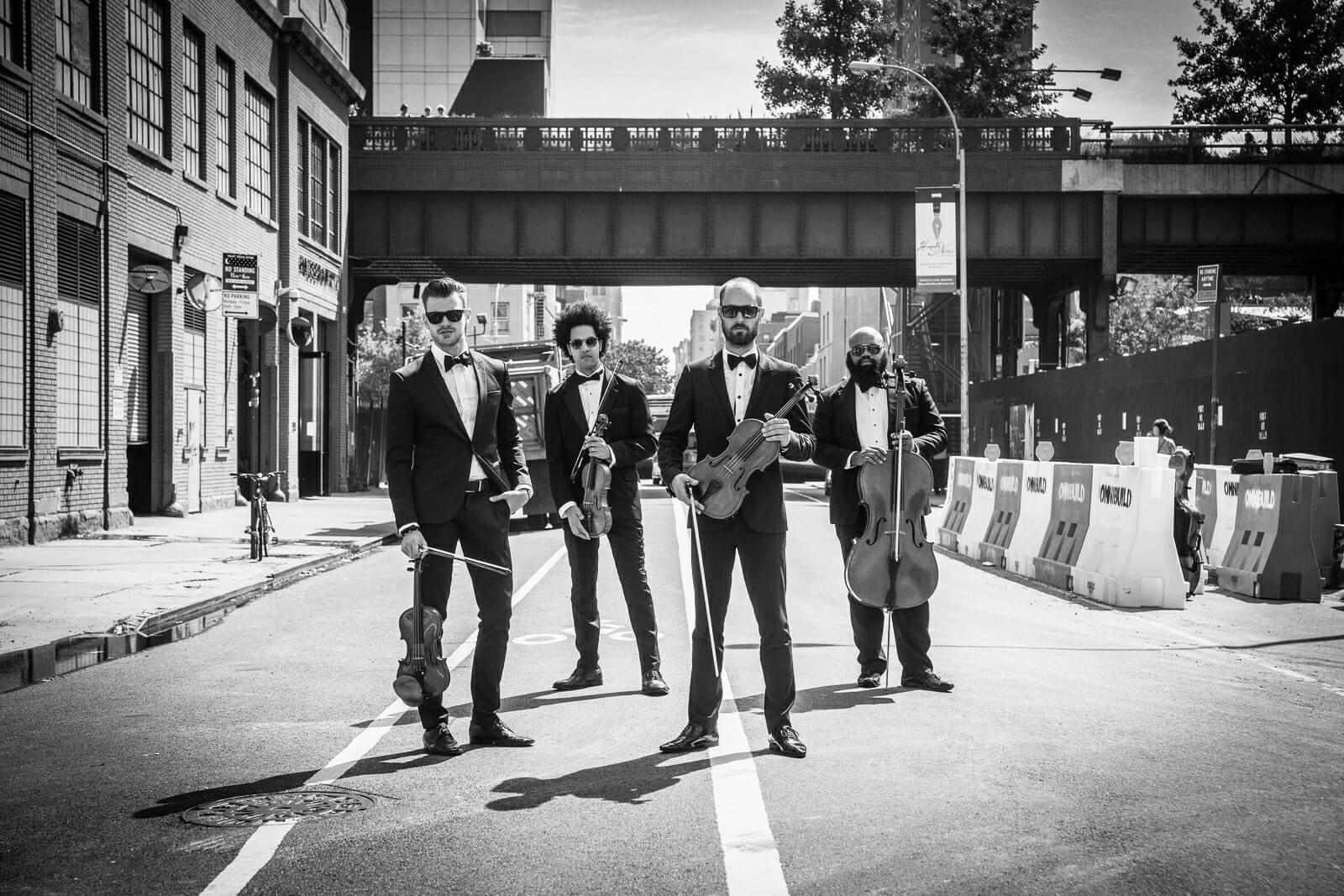 male string quartet