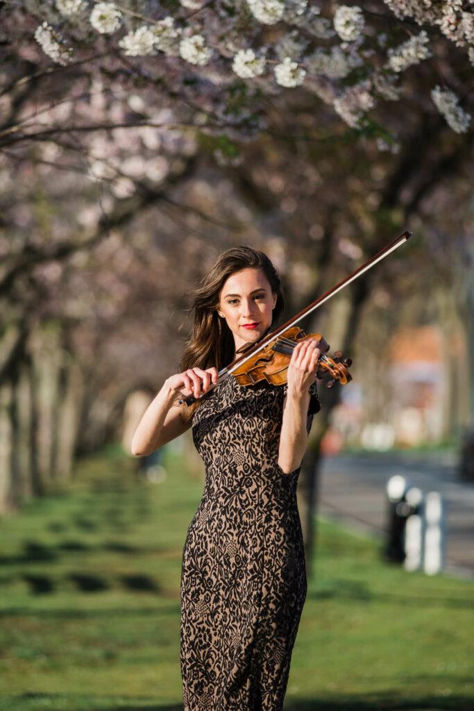 nyc violinist