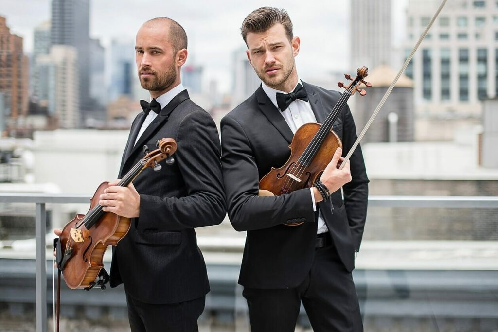 Male Violin Duo | Kiral Artists