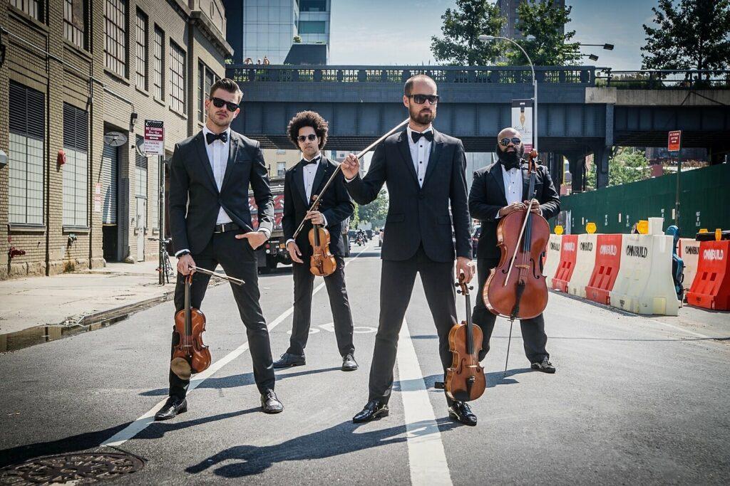 Male String Quartet in New York Kiral Artists