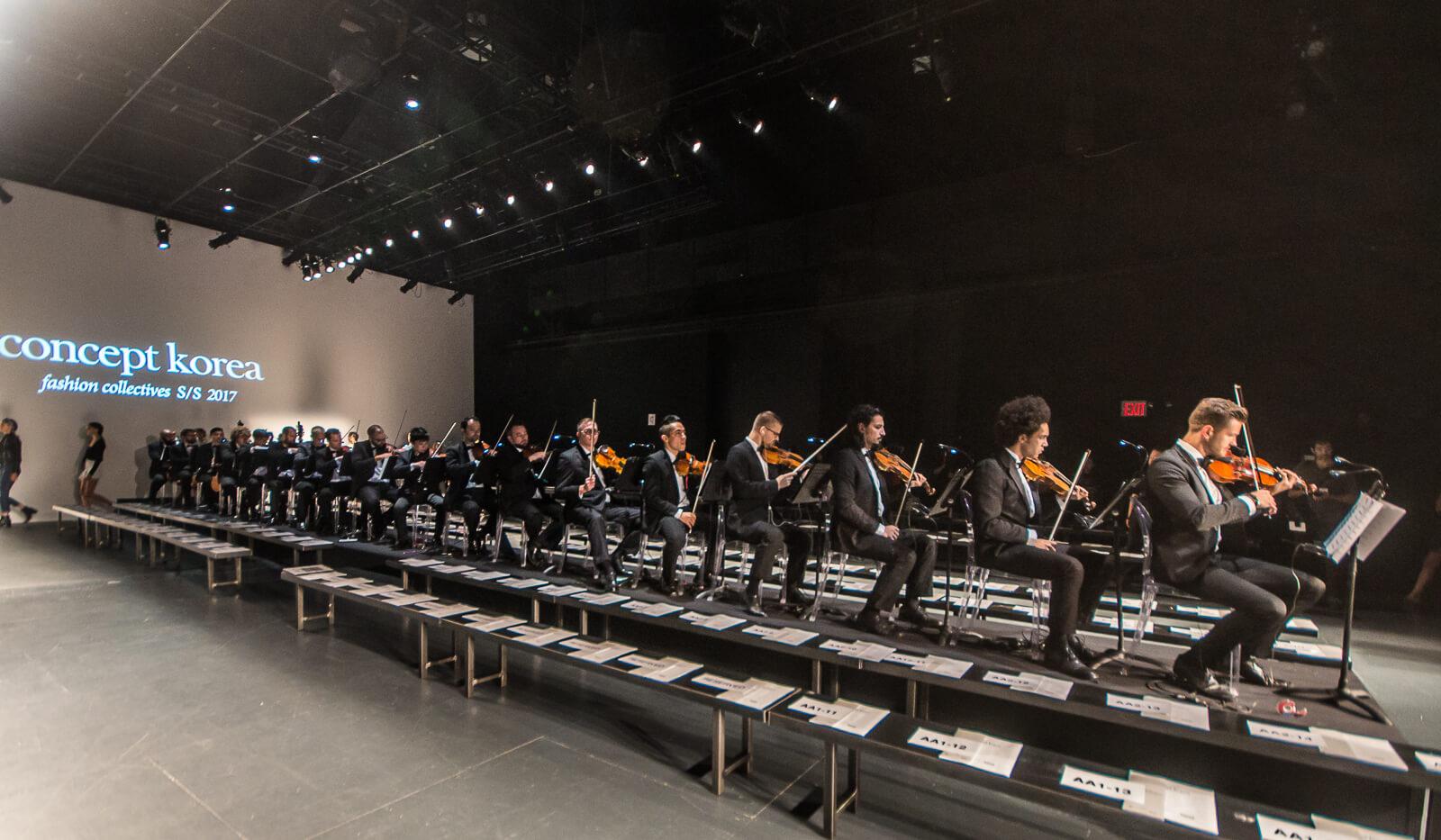 New York Fashion Week String Orchestra