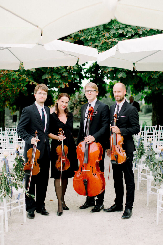 Strich quartet schloss waldegg Kiral Artists