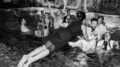 Swimming pool at Versace Mansion - Miami Wedding photo by Jan Freire