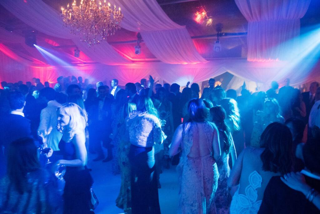 DJ Club Wedding Reception in Aspen Bluebird Productions