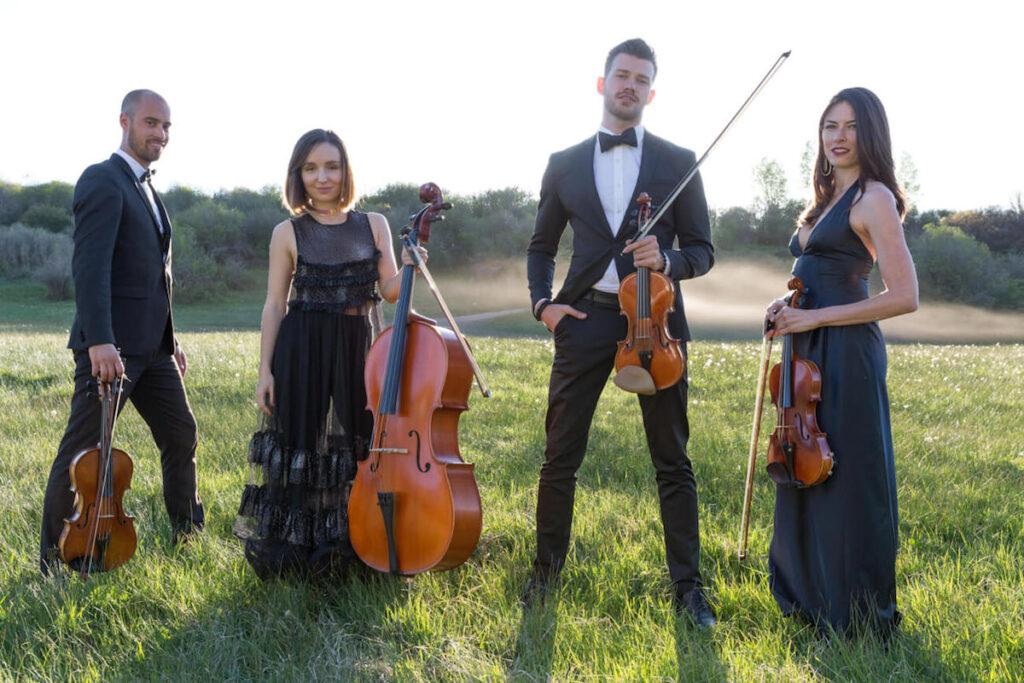 wedding string quartet in aspen, co