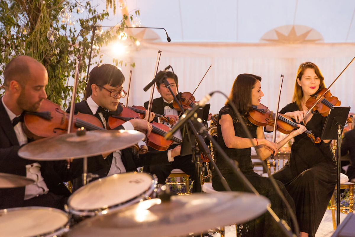 wedding string musicians